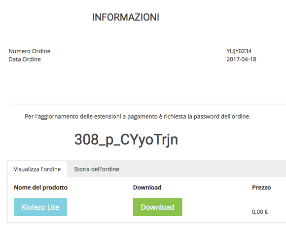 virtuemart order password istraxx download