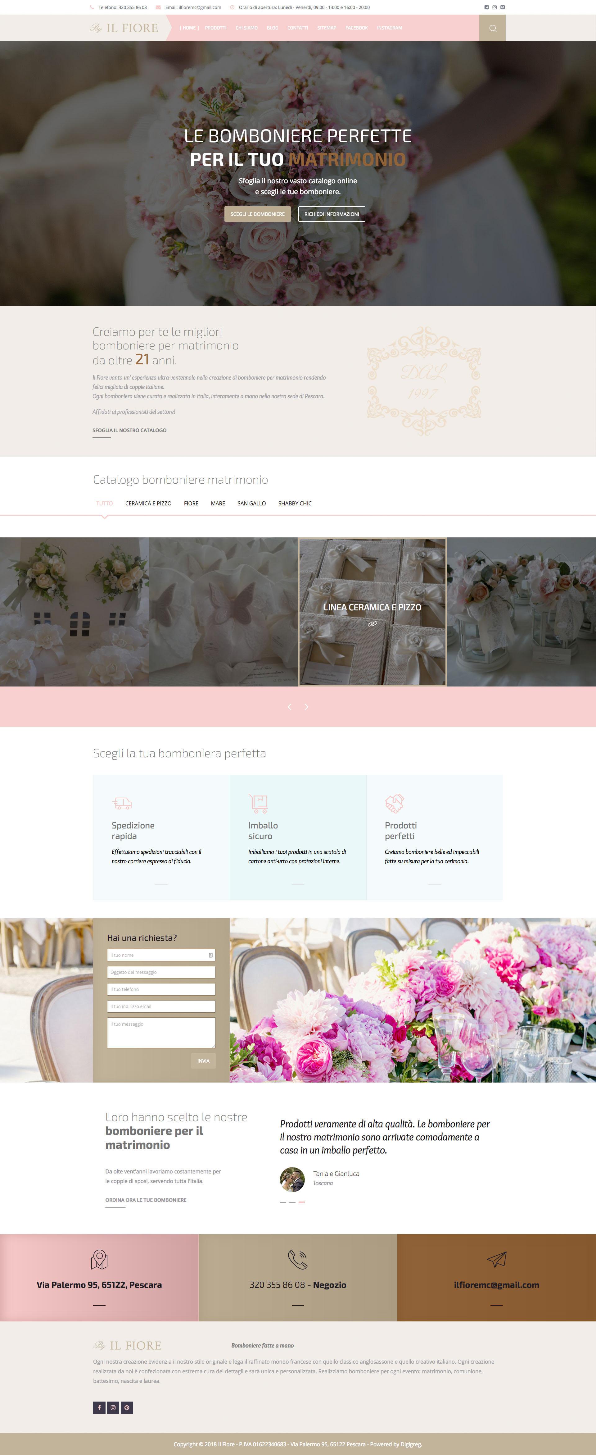 Il Fiore Wedding Favors Digigreg